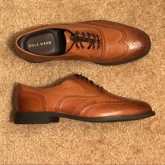 Cole Haan Mens Ross Dustin Wing Ox
